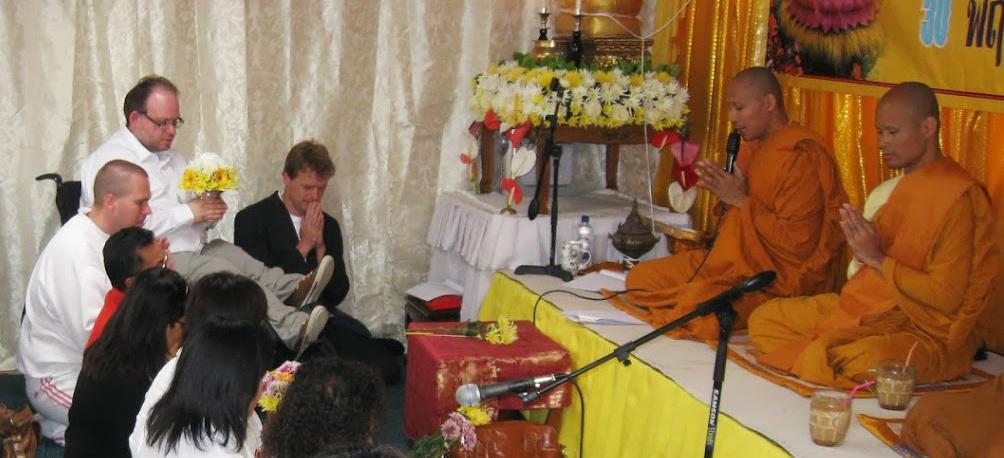 mijn toevlucht tot het boeddhisme